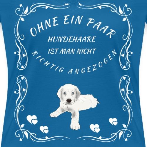 ohne hunde haare - Hunde T-Shirt Geschenk