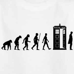 Evolution Tardis Shirts - Teenage T-shirt