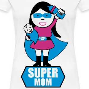 Super mom  - Frauen Premium T-Shirt