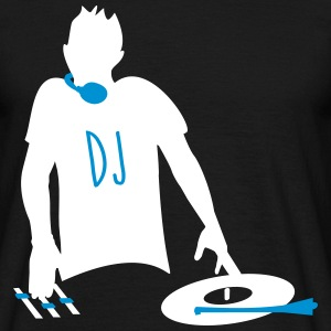 Official DJ, Disc Jokey, Mixer, Club, Clubbing - Men's T-Shirt