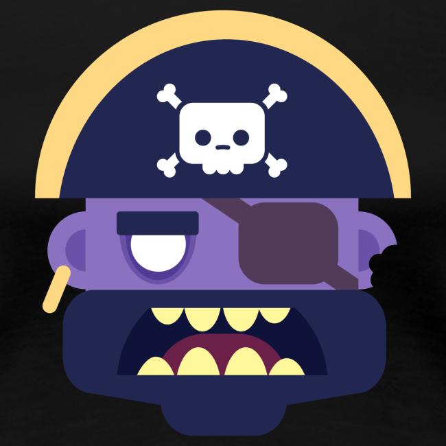 Captain Zed - Dame premium T-shirt
