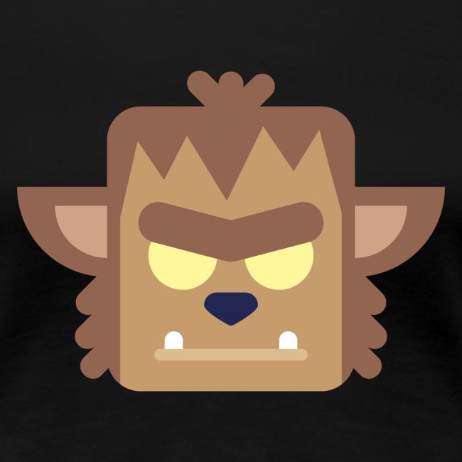 Werewolf - Dame premium T-shirt