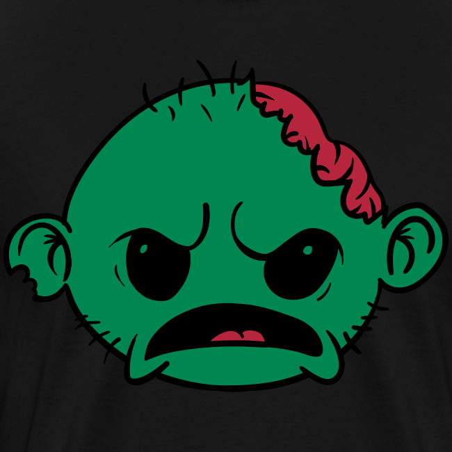 Zombob Green - Herre premium T-shirt