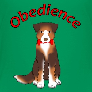Obedience AS Apportl Shirts - Kinderen Premium T-shirt
