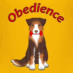 Obedience AS Apportl Camisetas - Camiseta premium niño