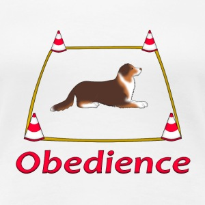 Obedience AS box T-shirts - Premium-T-shirt dam