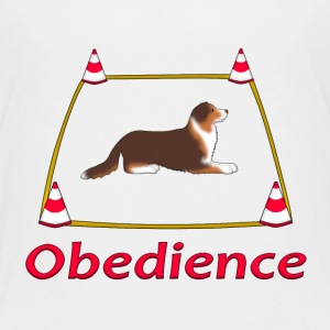 Obedience AS box Shirts - Kids' Premium T-Shirt