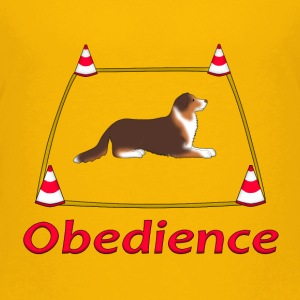 Obedience AS box Camisetas - Camiseta premium adolescente
