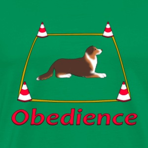 Obedience AS box Camisetas - Camiseta premium hombre