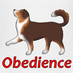 Obedience AS foot Shirts - Kids' Premium T-Shirt
