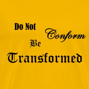 Do_Not_be_Conformed_copy - Men's Premium T-Shirt