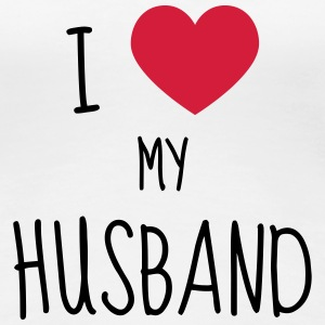 Husband - Wedding - Marriage - Love - Wife - Liebe T-Shirts - Women's Premium T-Shirt