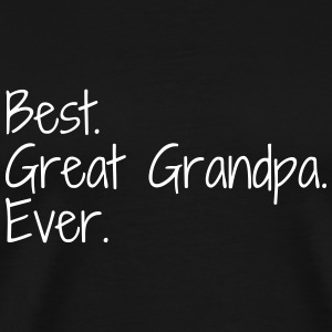 Great Grandpa Grandad Grandfather Family Baby T-Shirts - Men's Premium T-Shirt