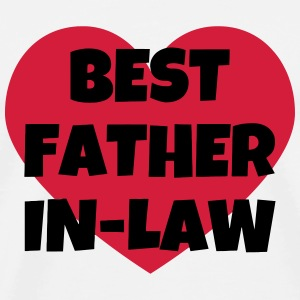 Father-in-law / Father in law / Marriage / Family T-Shirts - Men's Premium T-Shirt
