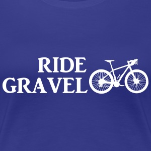 Ride Gravel T-Shirts - Women's Premium T-Shirt