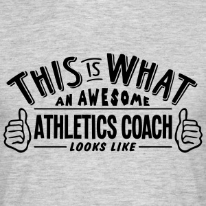 awesome athletics coach looks like pro d - Men's T-Shirt