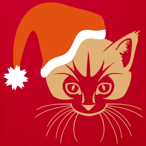 Cat Xmas T-Shirts - Kinder Bio-T-Shirt