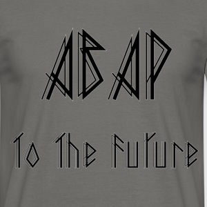 ABAP To The Future Camisetas - Camiseta hombre