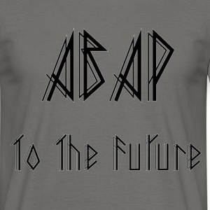ABAP To The Future T-shirts - Mannen T-shirt