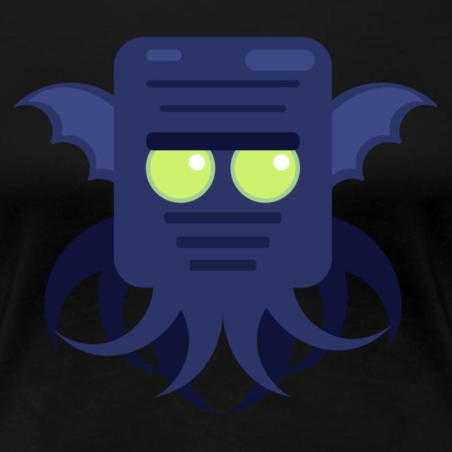 Cthulhu Dame premium T-shirt