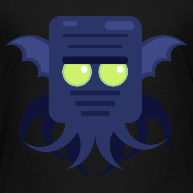 Cthulhu Teenager premium T-shirt