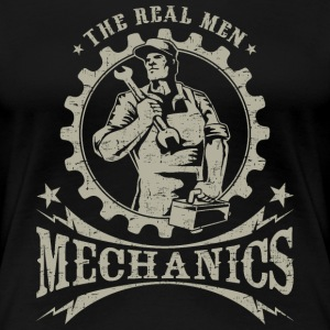 SSD Mechanics - The Real Men - RAHMENLOS Workwear Retro Style Design T-Shirts - Frauen Premium T-Shirt