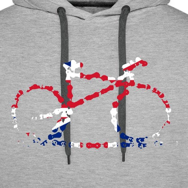 GB cycling bike chain hoodie