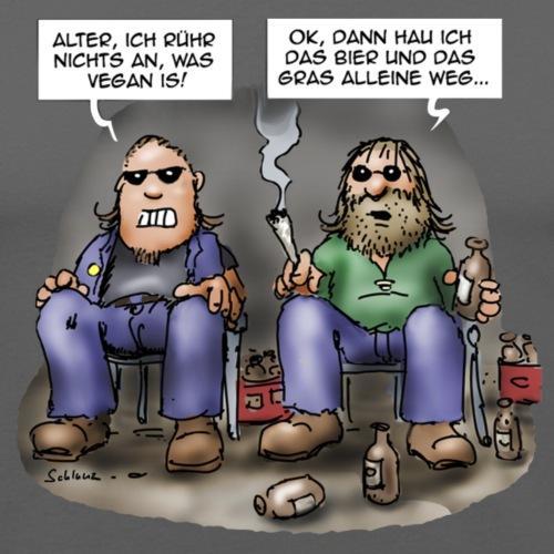 Bier und Gras