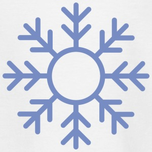 Blue Snowflake ornament Shirts - Kids' T-Shirt
