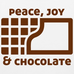 Peace, joy & chocolate Sports wear - Men's Premium Tank Top