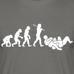 brazilian jiu jitsu bjj evolution 01 - Men's T-Shirt