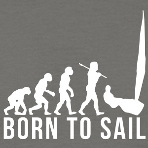 sailing evolution born to sail - Men's T-Shirt