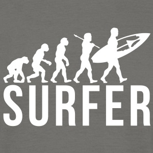 surfing evolution surfer - Men's T-Shirt