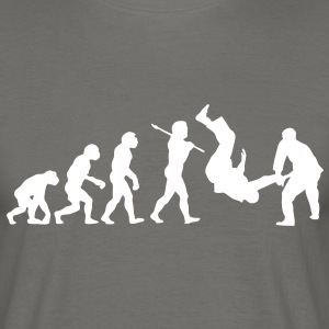 Judo Throw Evolution - Men's T-Shirt