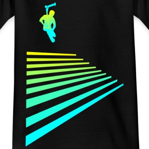 Stairs rider Shirts - Kids' T-Shirt