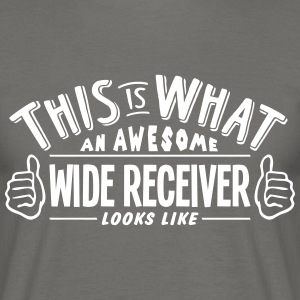 awesome wide receiver looks like pro des - Men's T-Shirt