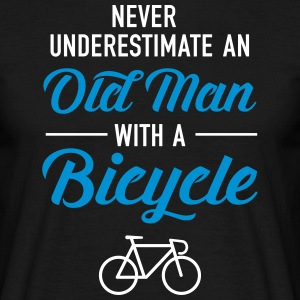 Old Man - Bicycle T-Shirts - Männer T-Shirt