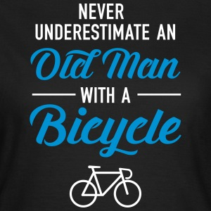 Old Man - Bicycle T-shirts - Dame-T-shirt