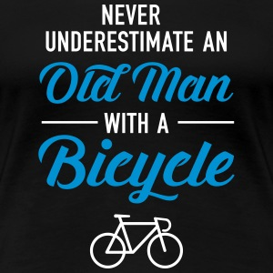 Old Man - Bicycle T-shirts - Dame premium T-shirt