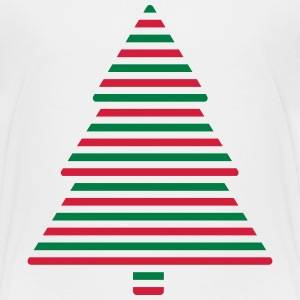 Christmas tree lines Shirts - Kids' Premium T-Shirt