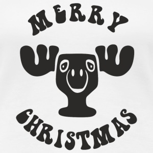 MERRY CHRISTMAS REINDEER T-Shirts - Frauen Premium T-Shirt