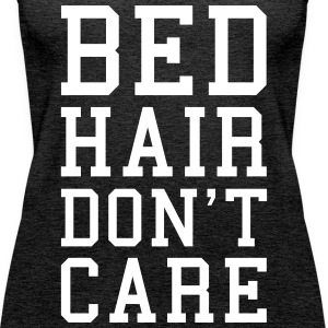 Bed Hair Funny Quote  Tops - Women's Premium Tank Top