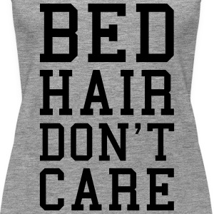 Bed Hair Funny Quote  Tops - Vrouwen Premium tank top