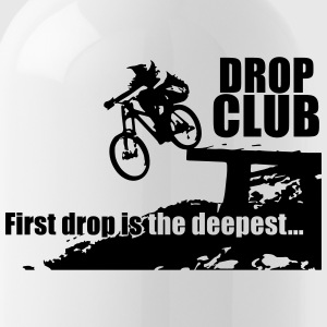 Dropclub - First Drop is the deepest Tassen & Zubehör - Trinkflasche