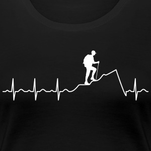 Heartbeat Hiking T-Shirts - Women's Premium T-Shirt