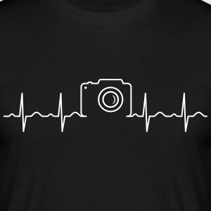 Heartbeat Photography T-Shirts - Men's T-Shirt