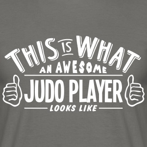 awesome judo player looks like pro desig - Men's T-Shirt