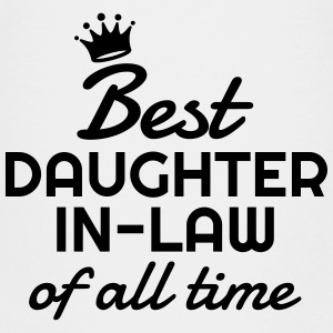 Daughter-in-law / Daughter in law Marriage Family Shirts - Teenage Premium T-Shirt