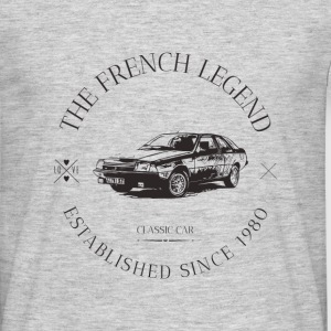 RENAULT FUEGO FRENCH CAR - T-shirt Homme