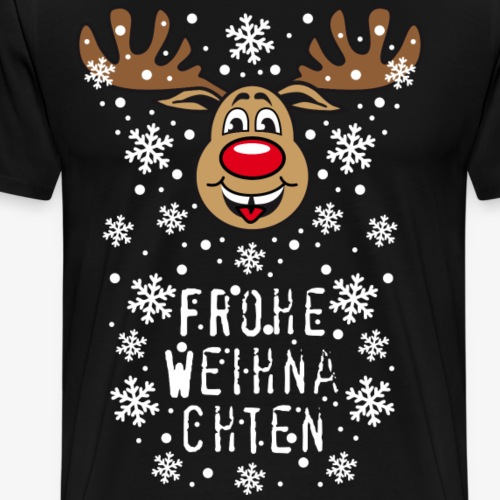 54 Hirsch Rudolph Frohe Weihnachten Rentier